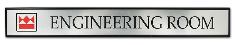 Changeable name plates, interchangeable name plates. office signs, office door signs.