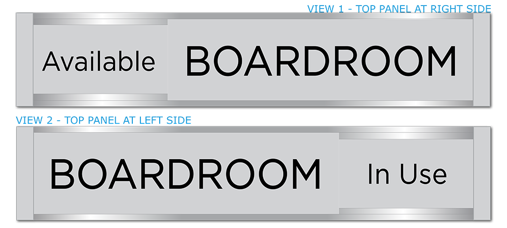 Conference & Meeting Room Door Signs. Board Room Sign